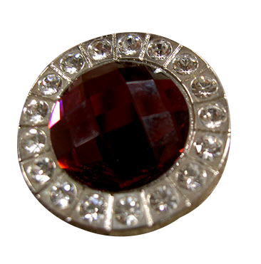 Red stone bling