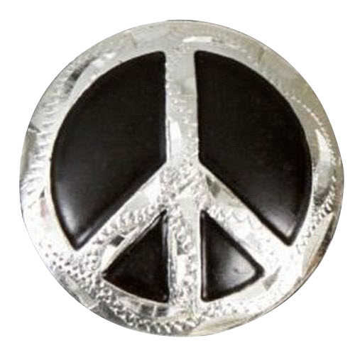 Peace sign  fitness button
